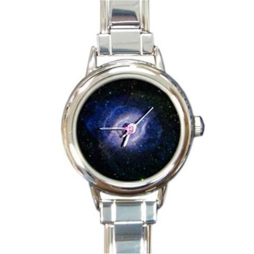 Helix nebula #space astronomy #italian #charm watch round silver,  View more on the LINK: http://www.zeppy.io/product/gb/2/361203741485/