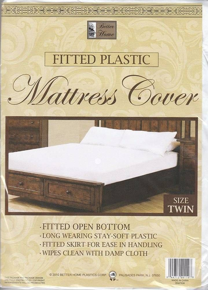 Waterproof Mattress Cover Protector Twin Size Fitted Bed