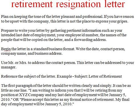 How to write a letter of resignation when retiring the best how to write a letter of resignation when retiring the best experts estimate expocarfo Gallery