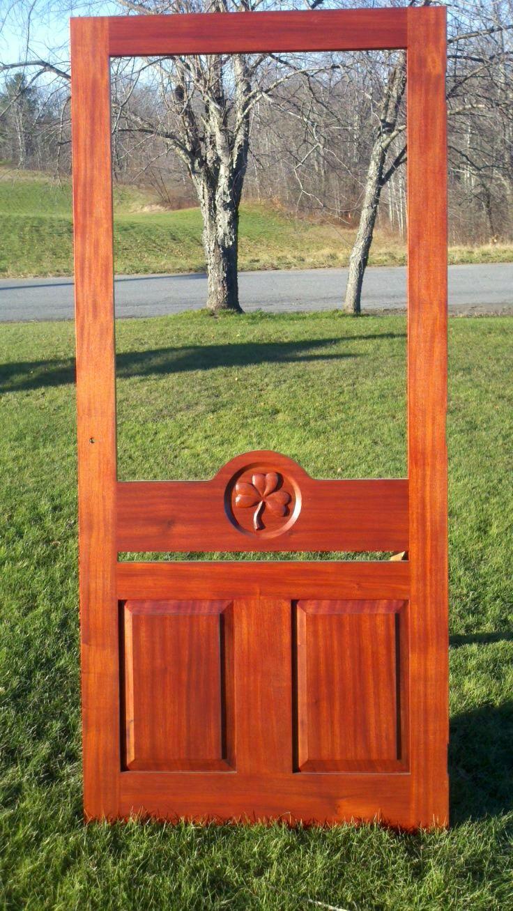 Western Maine Screen Doors Co 207 249 1687 Screen Doors & Western Screen Doors Images - main doors design modern