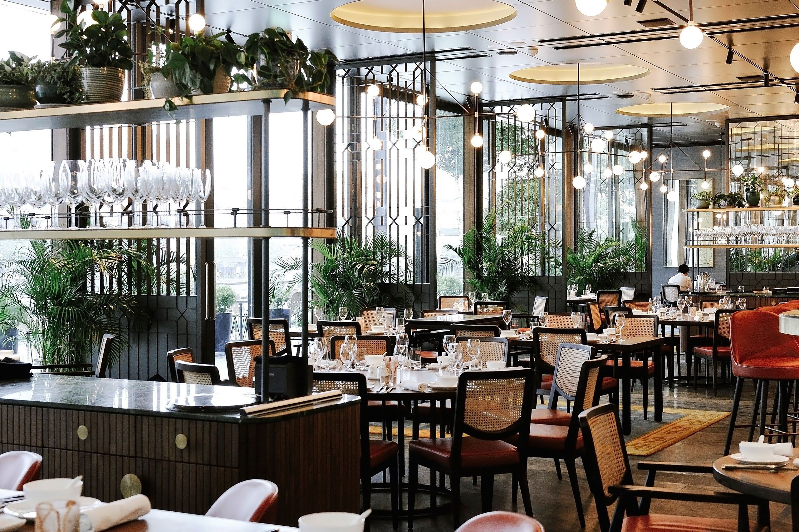 Empress Restaurant, Located In The New Extension Of Singapores Asian