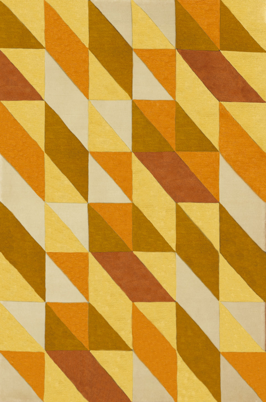 alfombra modelo encants color: orange medidas personalizadas tecnica