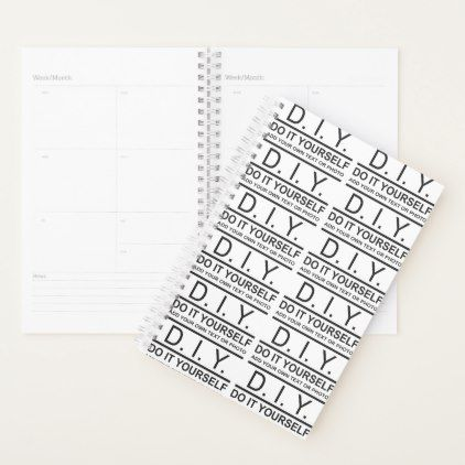 Personalized custom diy do it yourself planner personalized custom diy do it yourself planner photos gifts image diy customize gift idea solutioingenieria Choice Image