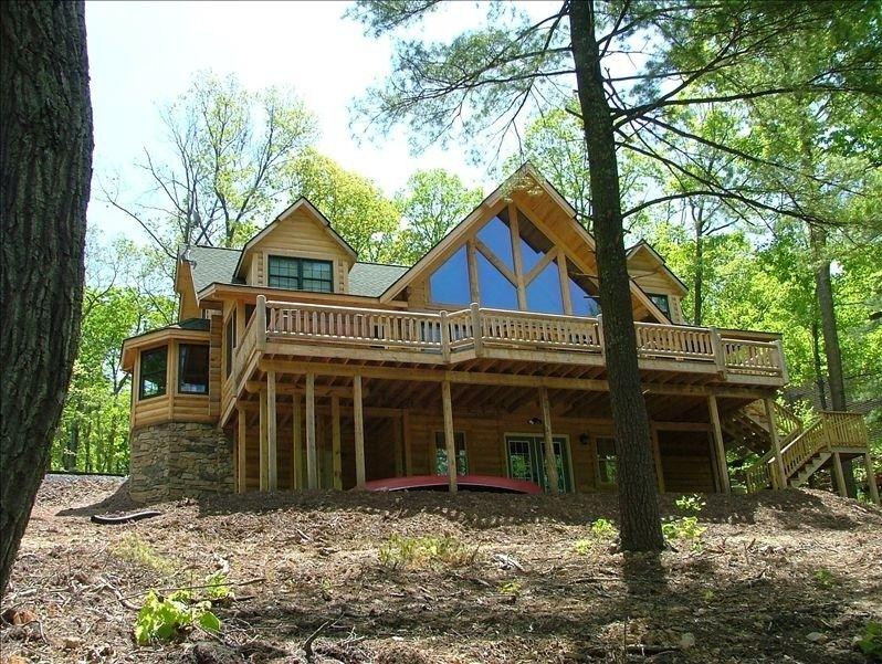 Sleepy Hollow Lakeside Log Home Sleepy Hollow Luxury Cabin Rental Vacation Rental Cabin Rentals