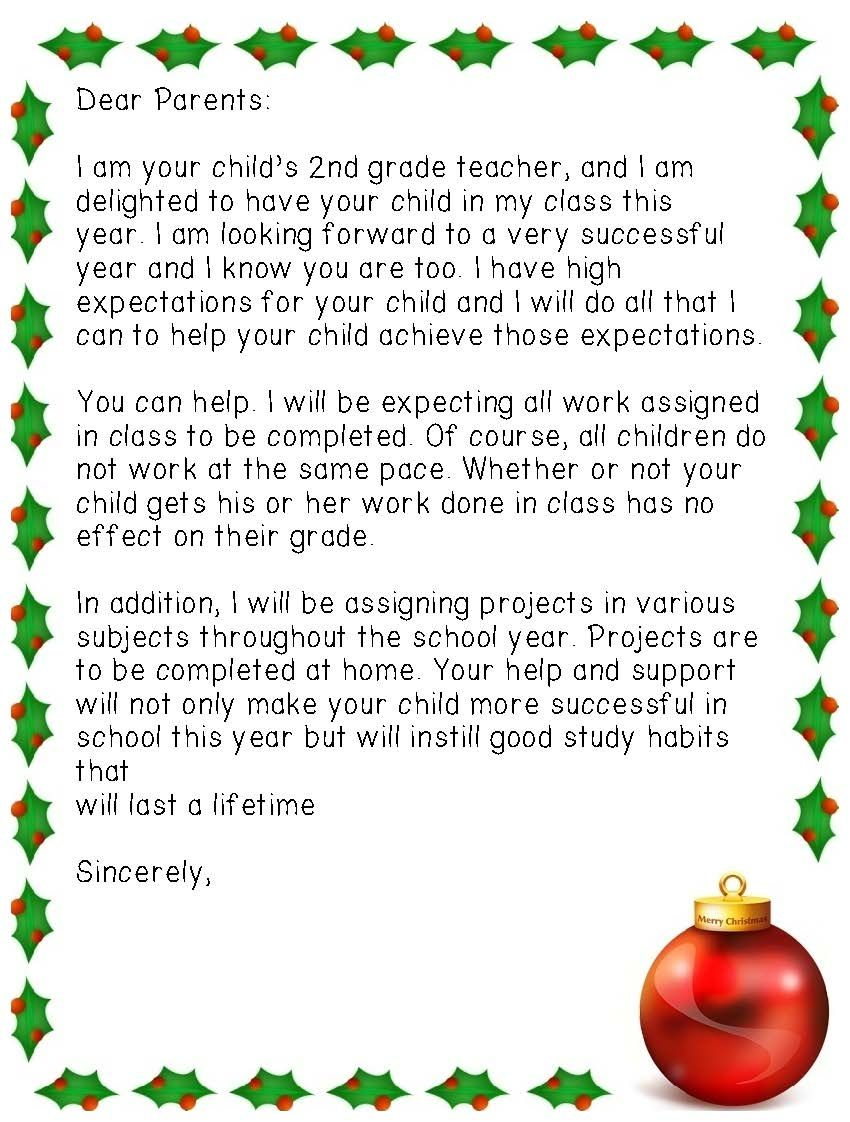 Holiday Letter Templates  Valentines Thanksgiving And Template