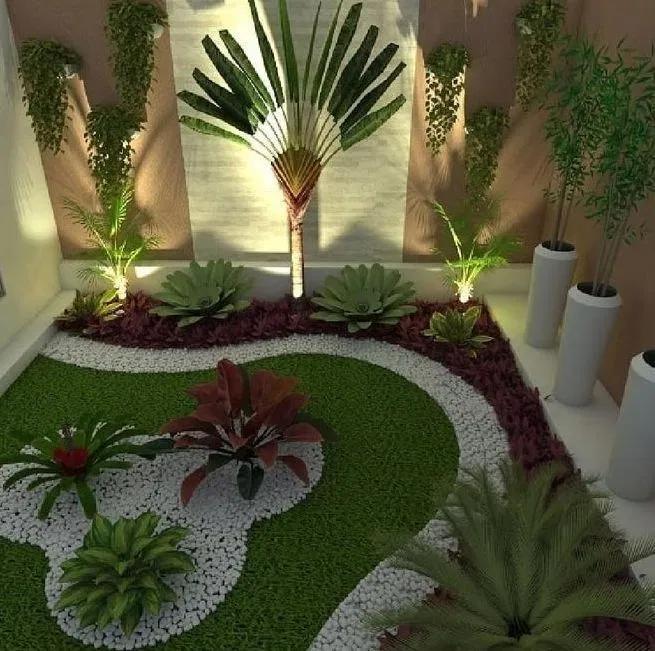 Inspirational Side Yard And Backyard Gravel Garden Design Ideas 13 Garden Decor Projects Minimalist Garden Garden Landscape Design