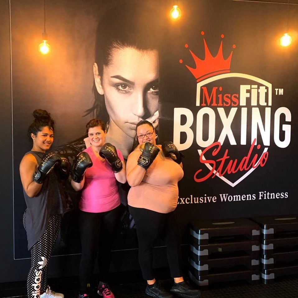 Such an amazing fun-filled, fit and fabulous time this morning at @missfit_studios with my girls @ma...