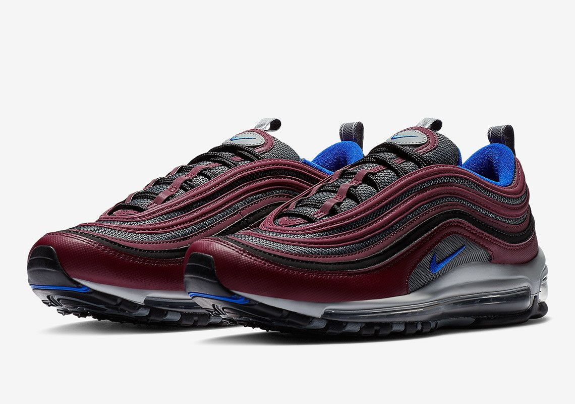 The Nike Air Max 97 Is Coming Soon In Maroon And Navy Nike Air Max Nike Air Max 97 Air Max 97