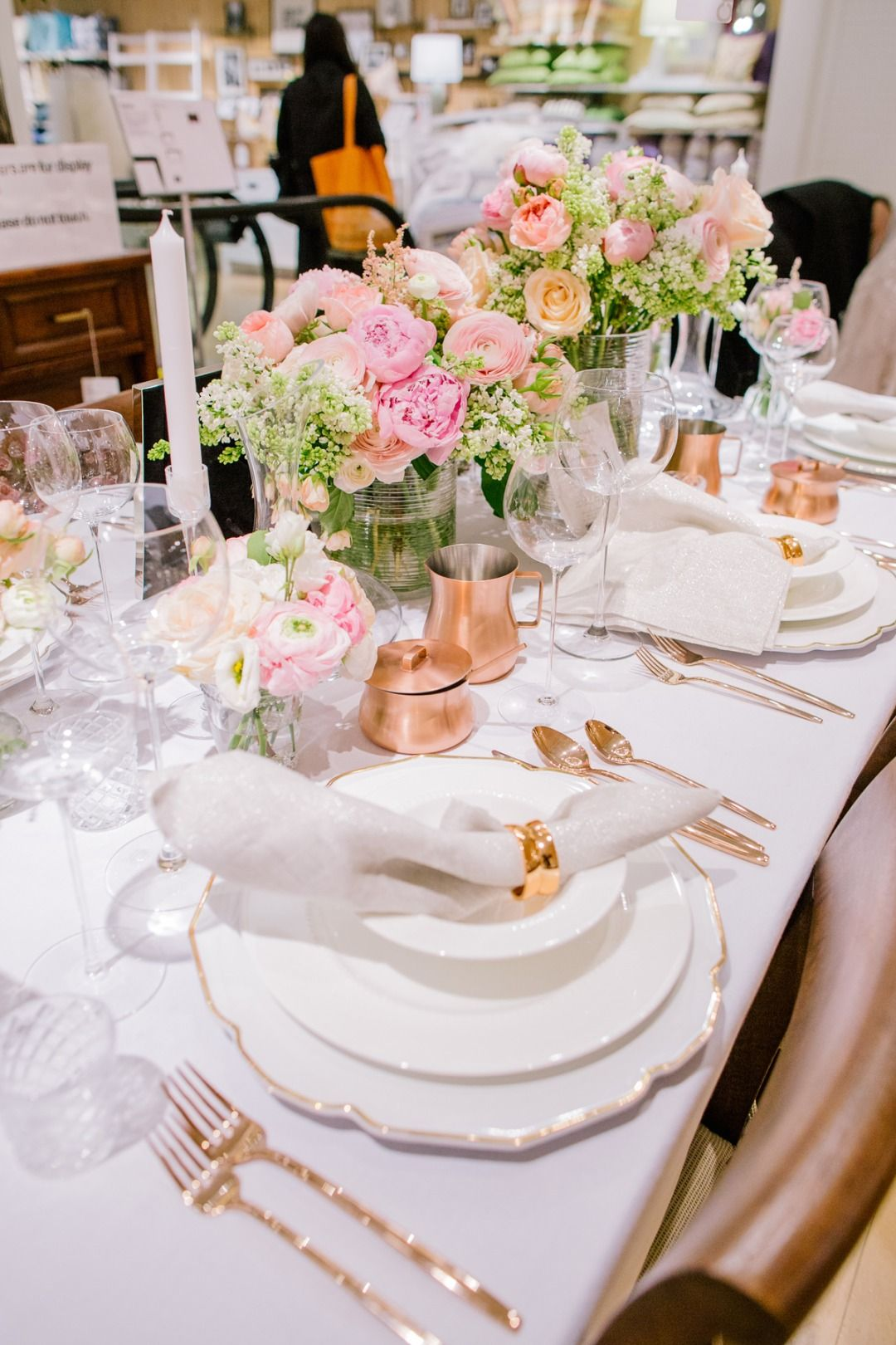 Hot Off Bridal Fashion Week Crate And Barrel Theknot Threw The Ultimate