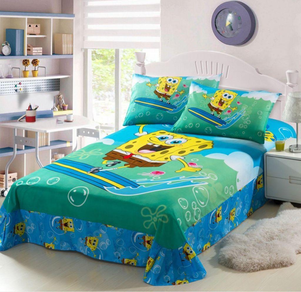 SpongeBob SquarePants Kids Bedroom Decoration 5 Kids bed