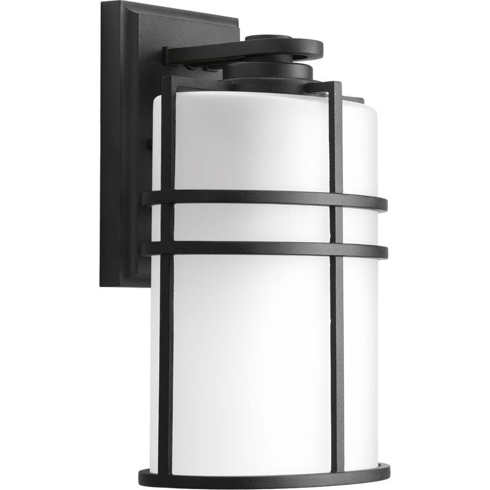 Progress Lighting Format Collection 1 Light Medium Black Outdoor Wall Lantern