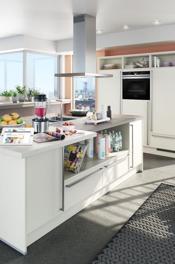 Die FIT FOR FUN-Küche überzeugt durch modernen Design, einer