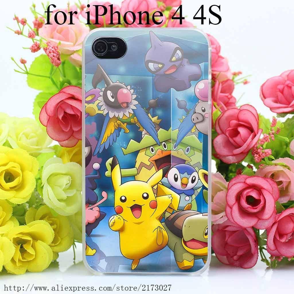 pokemon friends anime iphone case