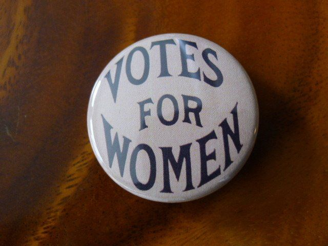 This Votes For Women Button Measures 1 1 2 Inches Wide This Is