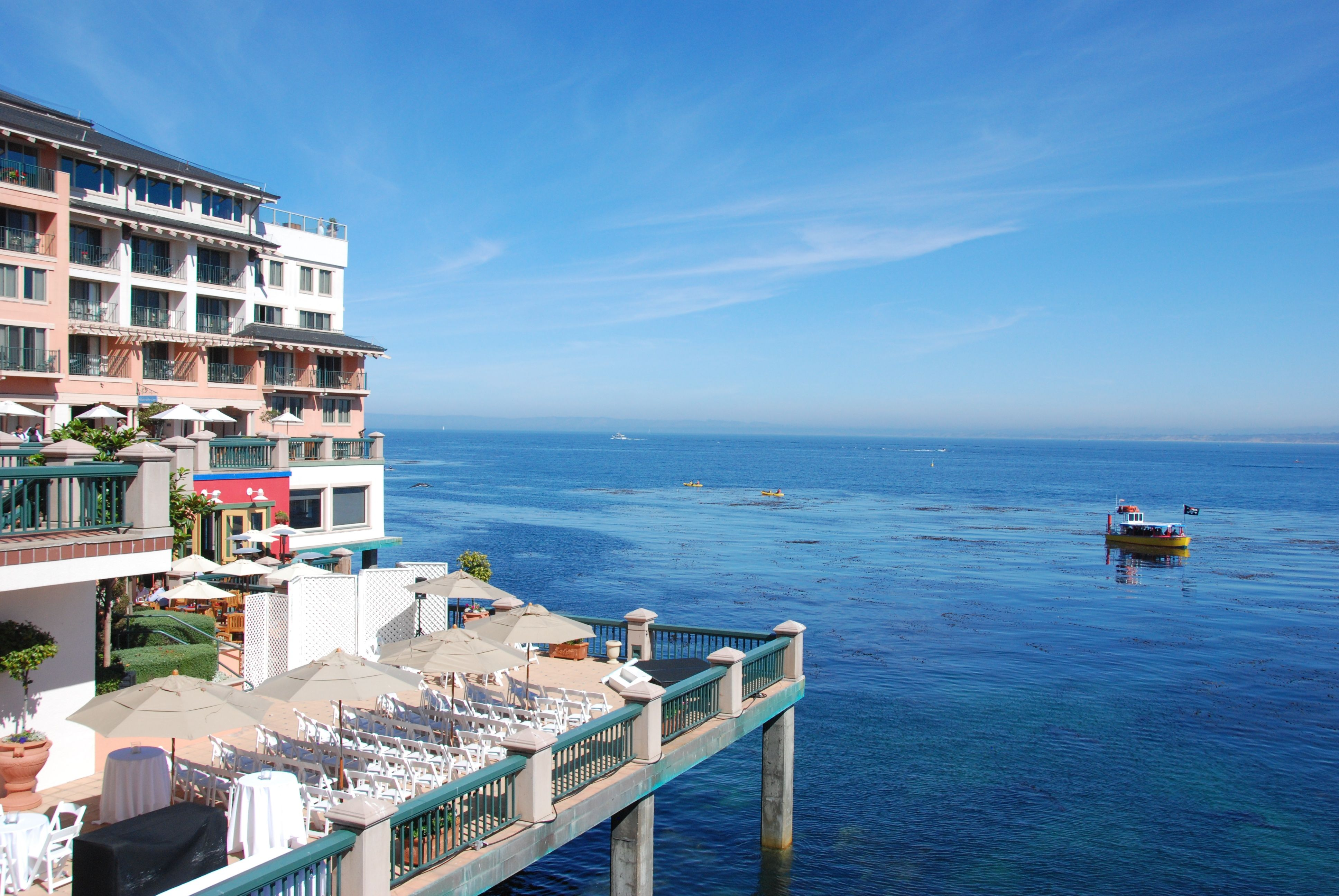 Monterey Plaza Hotel over the water | Monterey Plaza Hotel & Spa ...