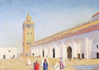 Mosque at Marrakech (1948)