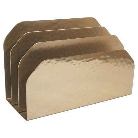 hammered letter sorter gold nate berkus organization cleaning rh pinterest com