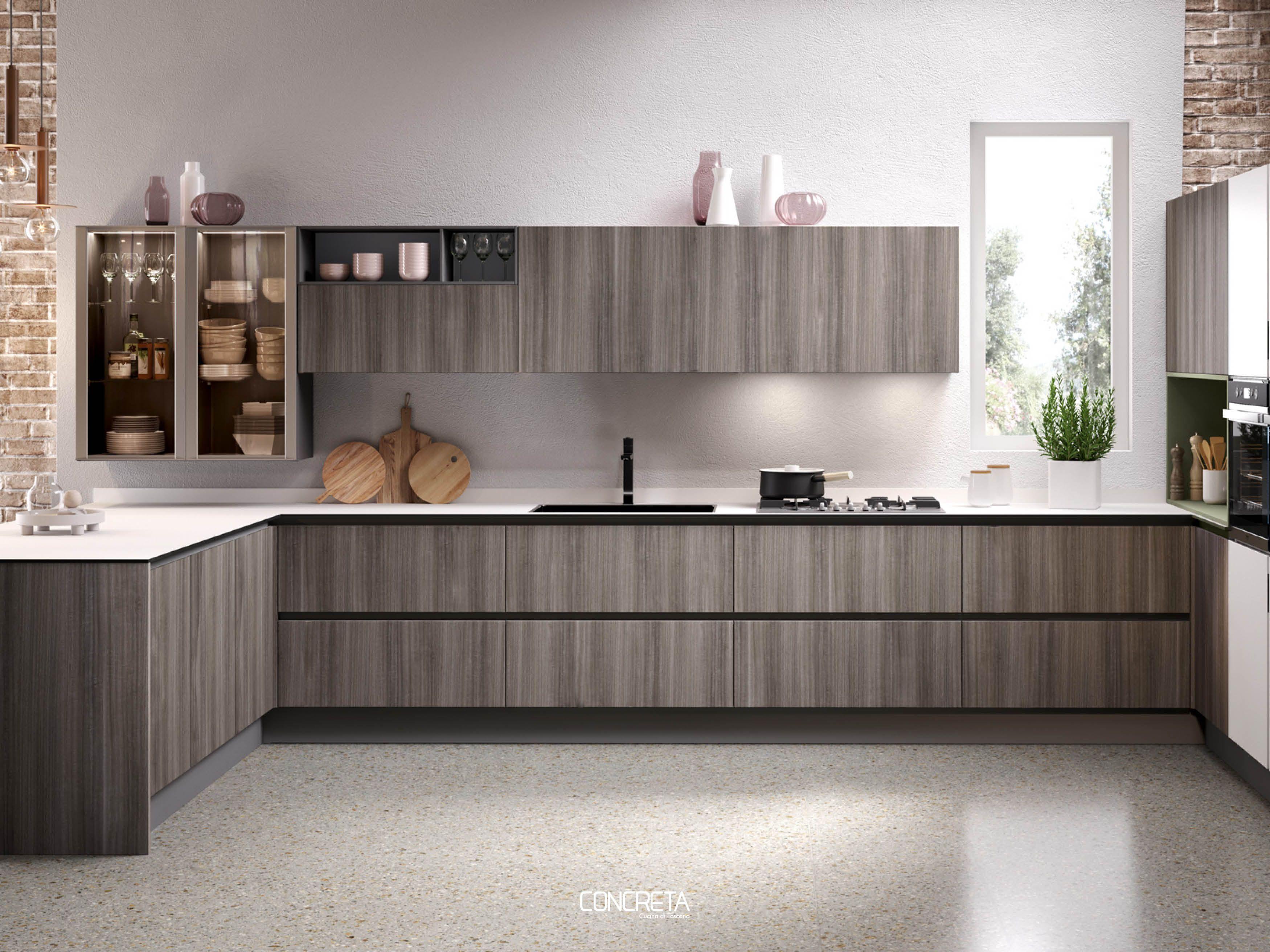living life concreta collection open cabinets cabinet e home decor rh pinterest com