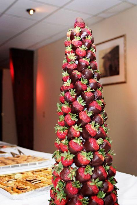 strawberry tree centerpiece congratulations kiarra chocolate rh pinterest com