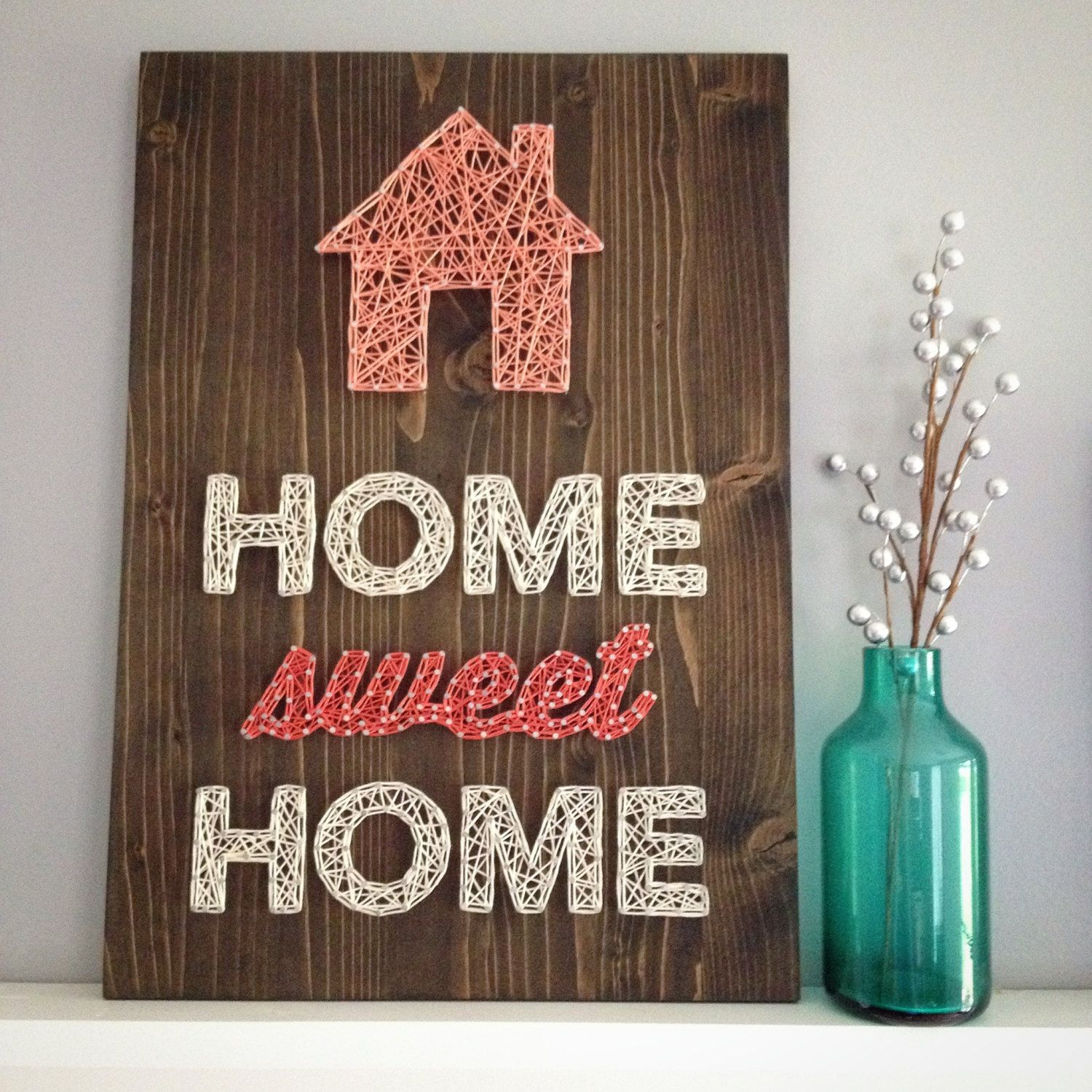 MADE TO ORDER String Art Home Sweet
