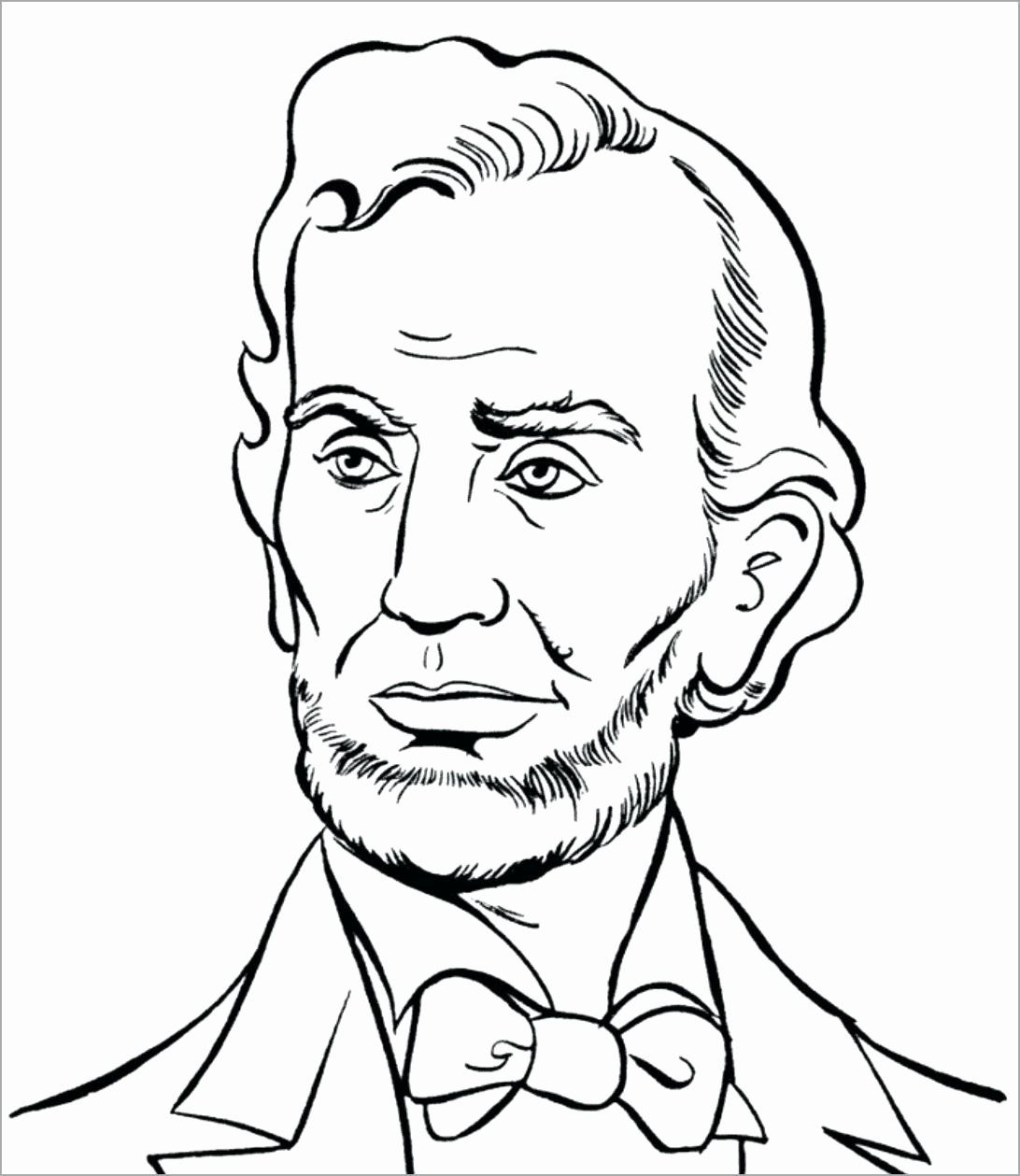 Presidents Day Coloring Sheet Best Of President Abraham Lincoln Coloring Pages Regionpaper