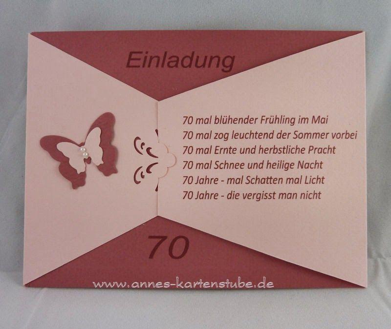 Annes Kartenstube Einladungen Mit Bildern Einladung Gestalten