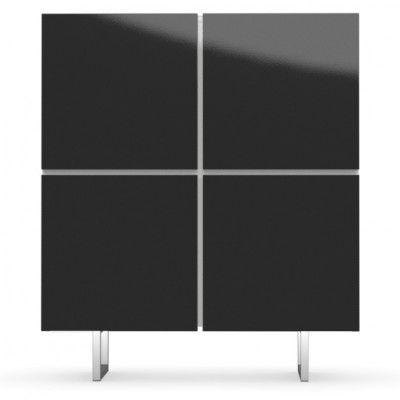Calligaris Seattle Storage Cabinet Cs6004 5 Italian Designed Four - Calligaris-seattle-storage-cupboard-with-four-doors