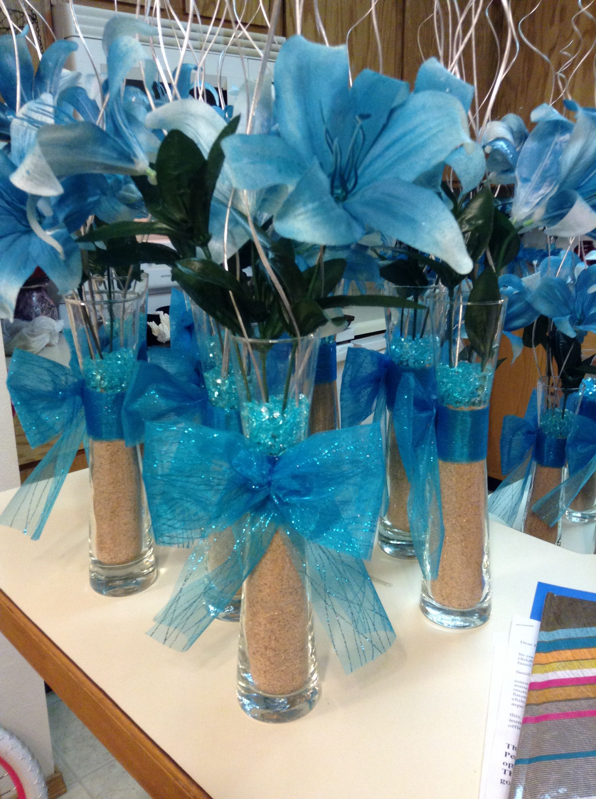 center pieces for quincea era on a budget diy for parties in rh pinterest com