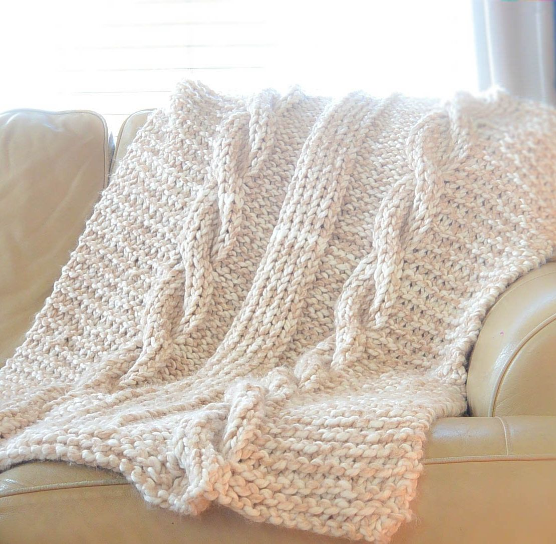 Quick Afghan Knitting Pattterns | Knitting | Pinterest | Dos agujas ...