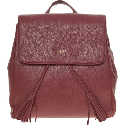 Boysenberry Leather Backpack in 2020 Leather backpack