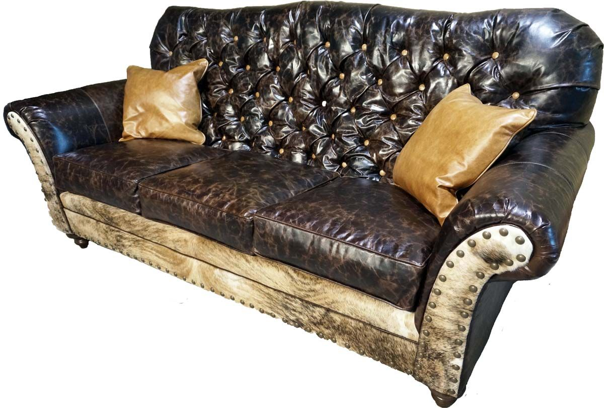 medina rustic tufted sofa western sofa loveseats tufted sofa rh pinterest com