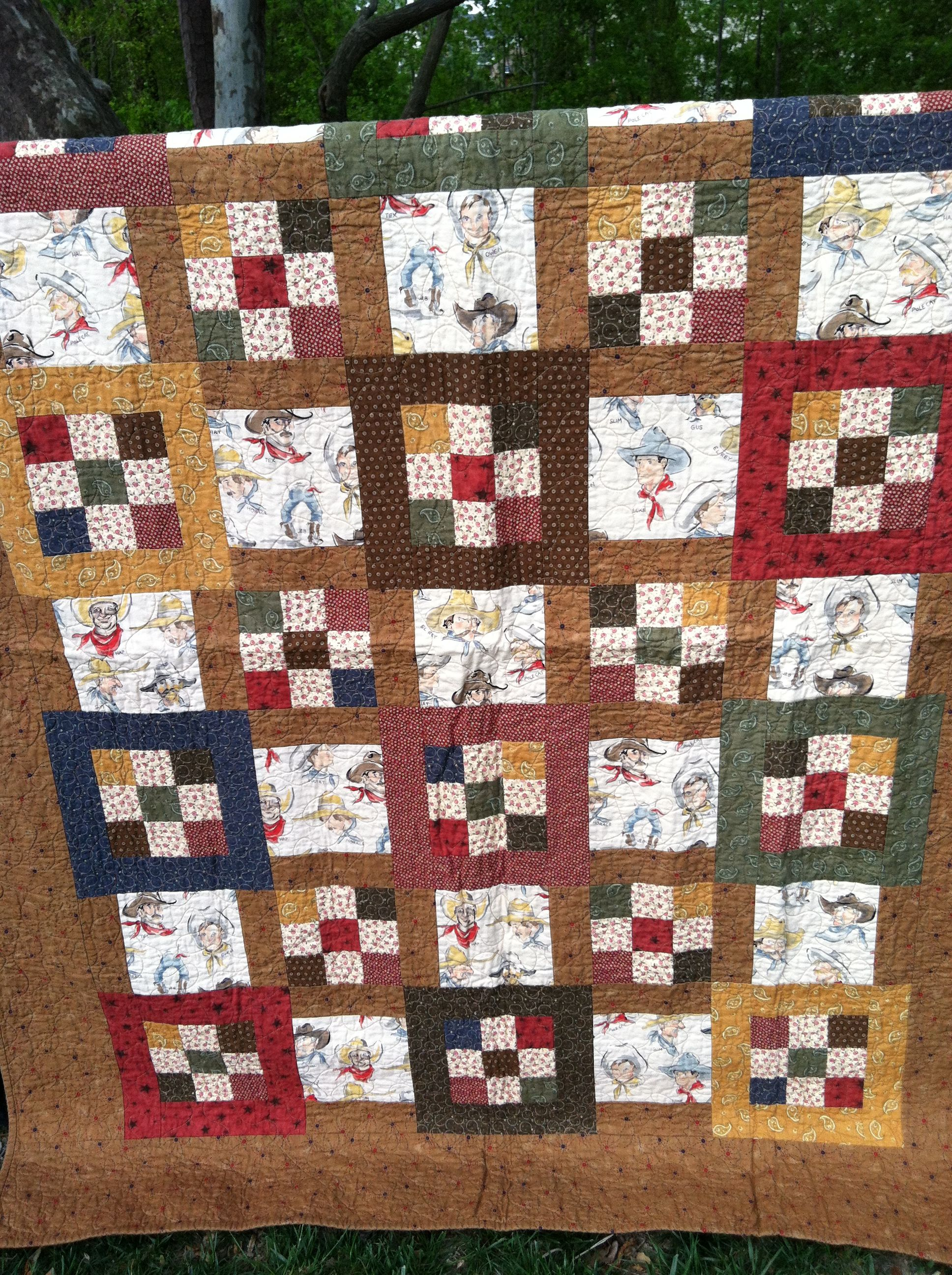 Western Quilt Patterns New Design Ideas