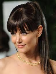 Resultado De Imagen Para Peinados Semi Recogidos Con Flequillo Recto - Peinados-flequillo-recogido