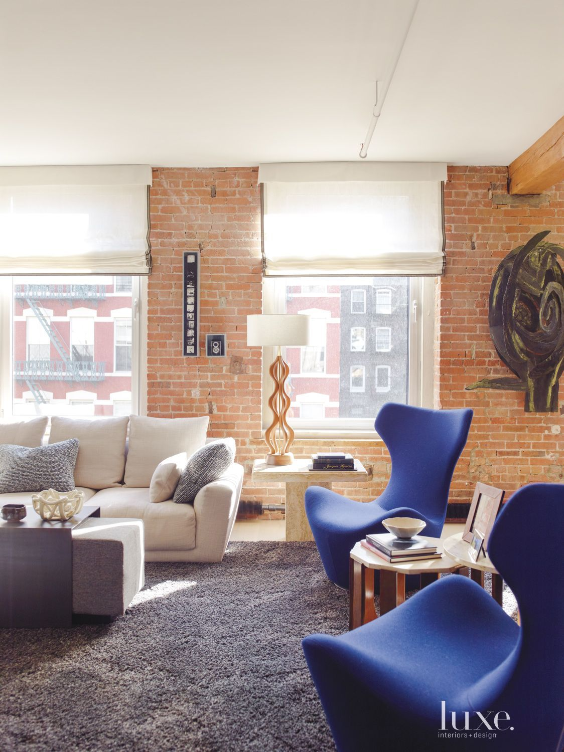 Room An Eclectic Soho Loft with Industrial
