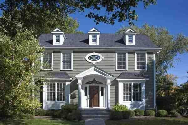 Colonial House Paint Colors Exteriors Exterior Style Homes Modern