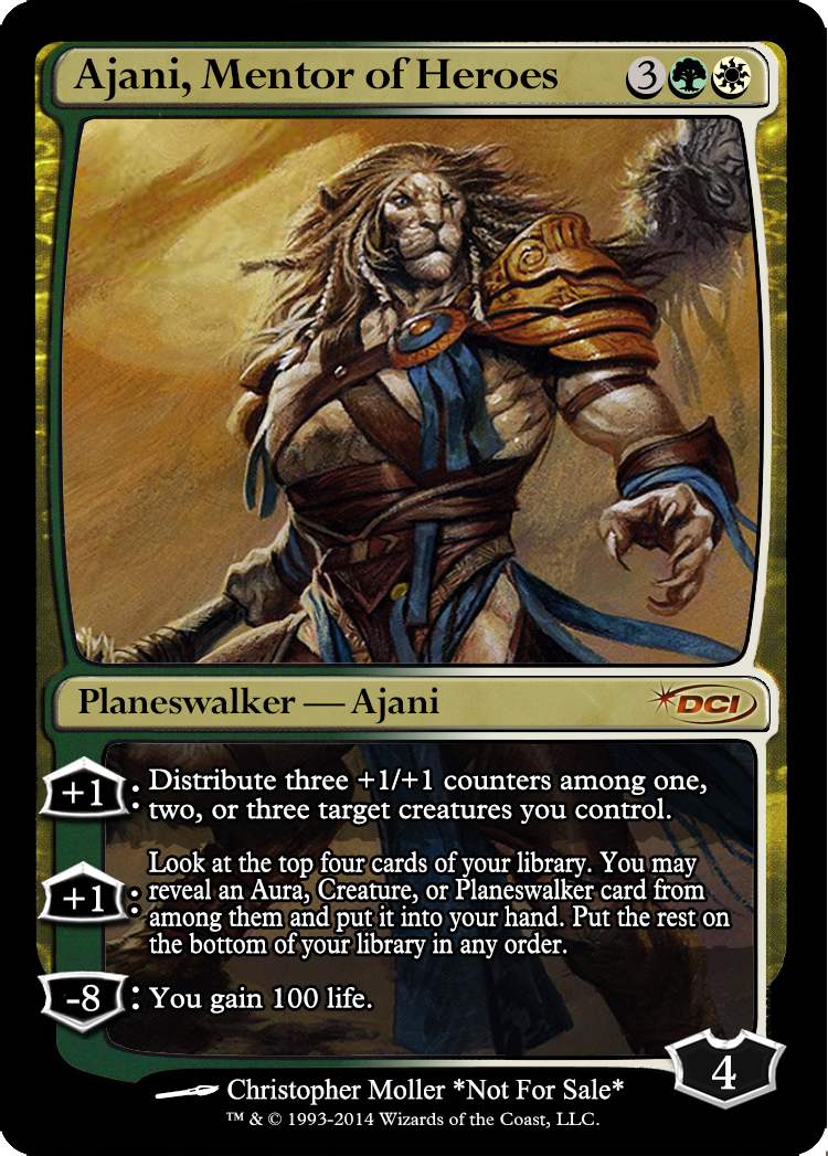 Ajani holy shit | magic | Pinterest | Mtg altered art ...
