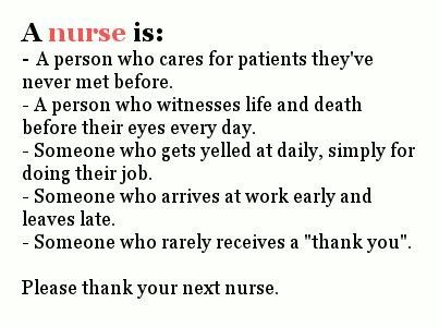 This Is The Perfect Definition Of What Every Nurse Does! And Through It All,
