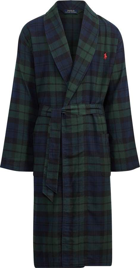 highly praised customers first nice shoes Ralph Lauren Black Watch Flannel Robe | Products | Men's ...