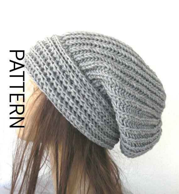 Instant Download Knit hat pattern Digital  Hat Knitting by Ebruk, $5.00