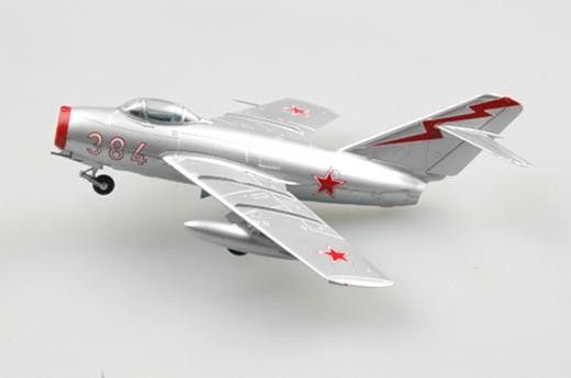 1:72 Mikoyan-Gurevich MiG-15 Noo384 Russian Air ForceChina1951 - Assembled and…