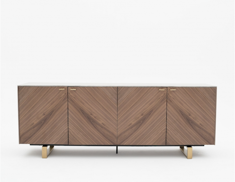 arto grey walnut veneer sideboard in 2019 margo dining sideboard rh pinterest com
