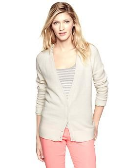 Colorblock raglan cardigan | Gap - Love this new sweater!