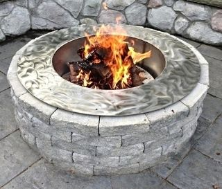 Fire Pit Ring For Sale - Stainless Steel Fire Pit Ring, Stainless Steel Fire Pit Ring Spark Screen