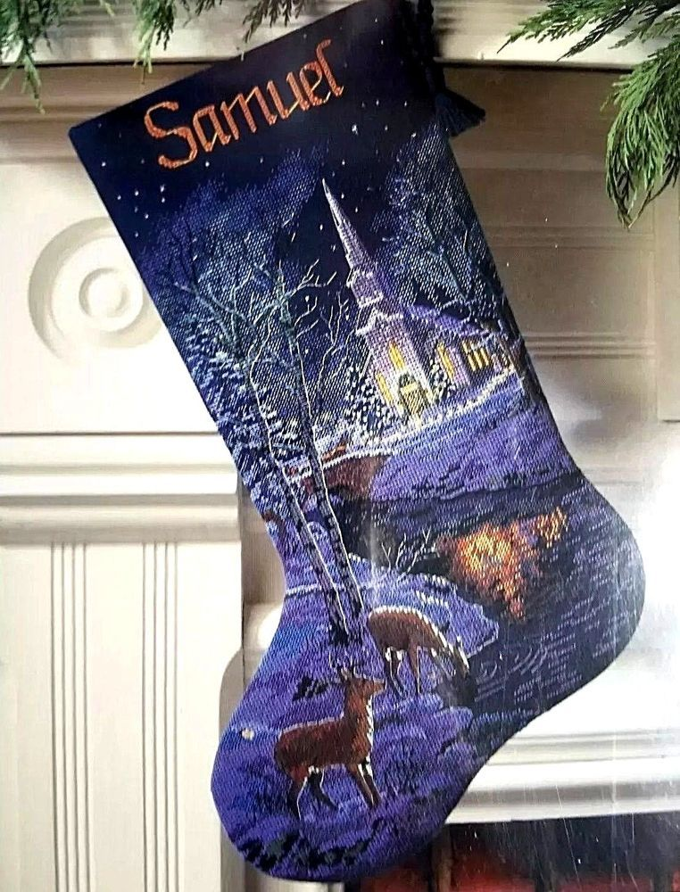 Dimensions Christmas Stocking Kits.Dimensions Gold Collection Peaceful Evening Cross Stitch