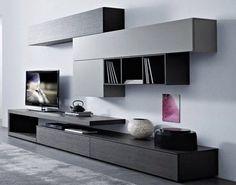 Mueble Modular Mesa Rack Living Tv Lcd Progetto Mobili | Soggiorni ...
