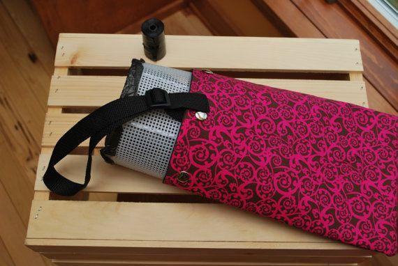 CAR TRASH BAG Auto Litter Bag Reusable by CraftyNightOwlDesign