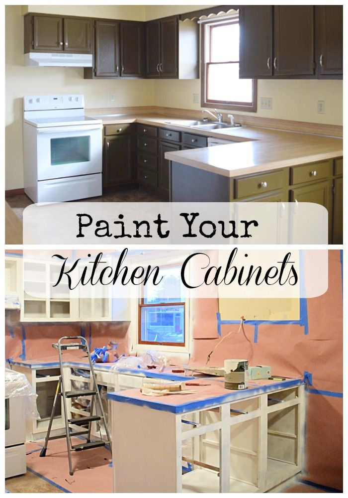 Paint Kitchen Cabinets One Room Challenge Week