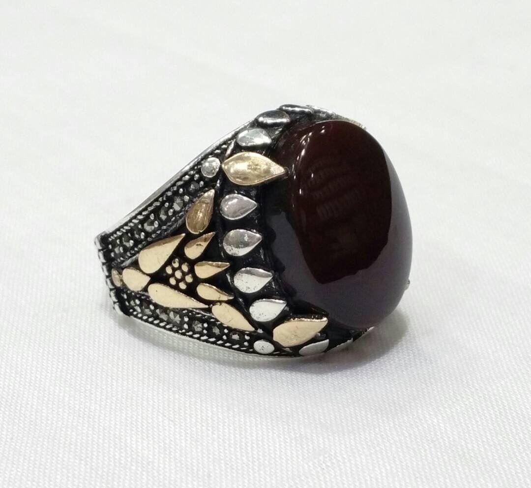 Ring Silvers Yemeni خواتم خاتم فضة تركية اسطنبولية اليمن صنعاء بيع وشراء العقيق اليماني جملة وتجزئة Gemstone Rings Gemstones Jewelry