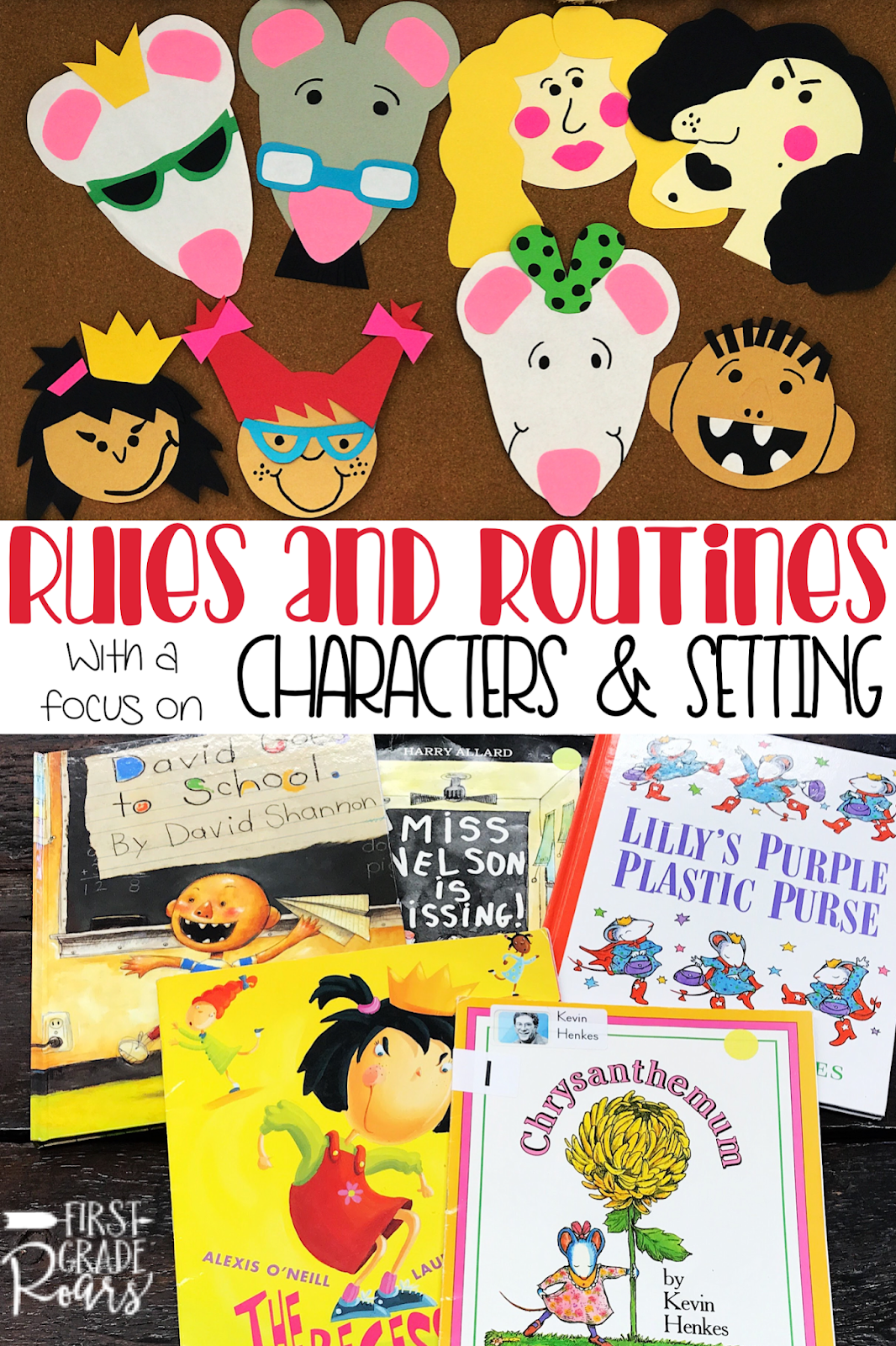 Rules Amp Routines Guided Reading With A Purpose Characters