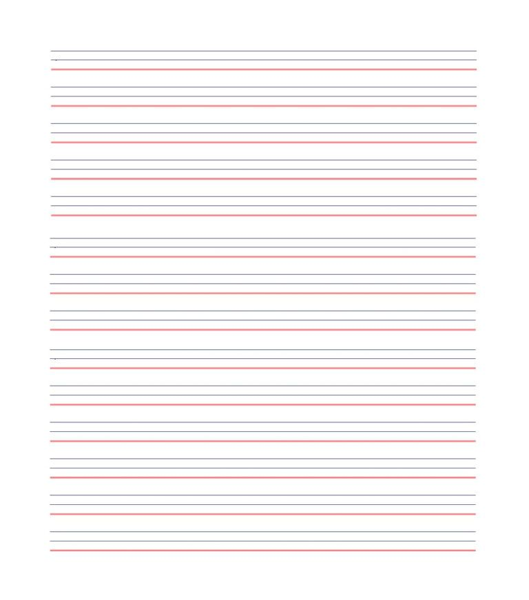 Lined Paper Background For Powerpoint Notebook Paper Template